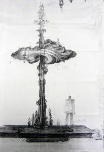 Ескіз пам'ятника. Міська рада